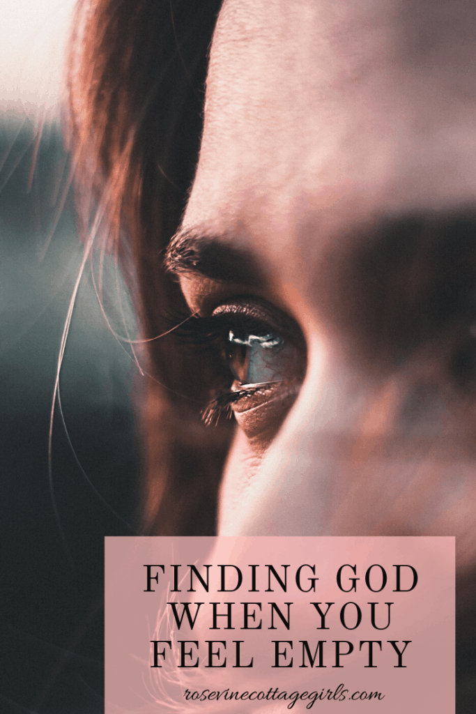 Finding God when you feel empty and need wonder where God is