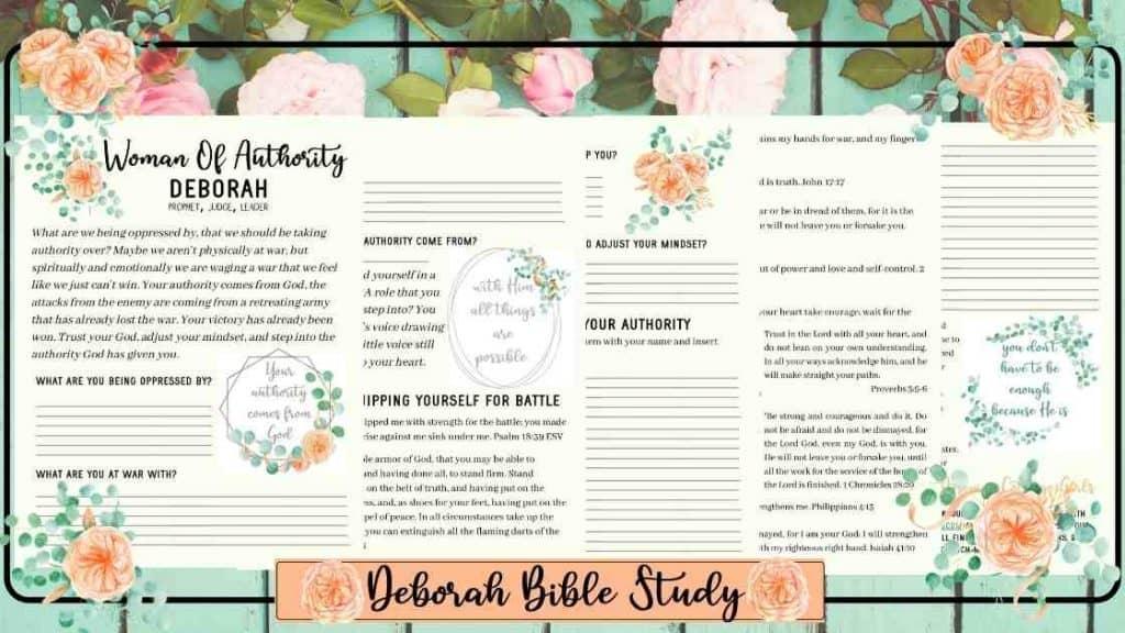 Deborah Bible Study