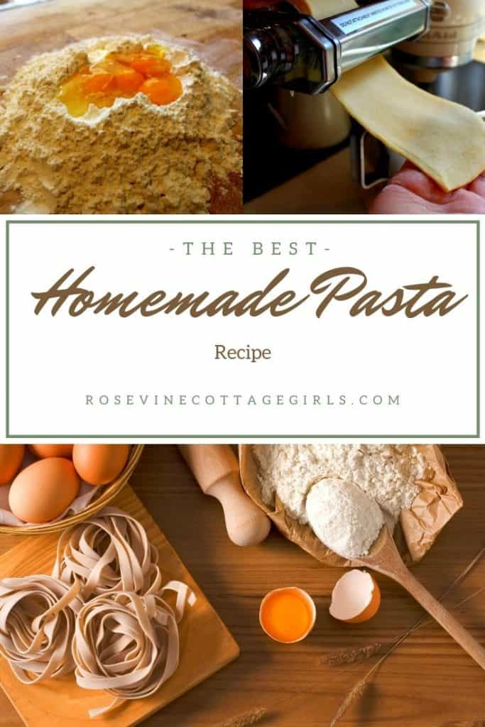 pasta making from scratch | How to make homemade pasta from scratch