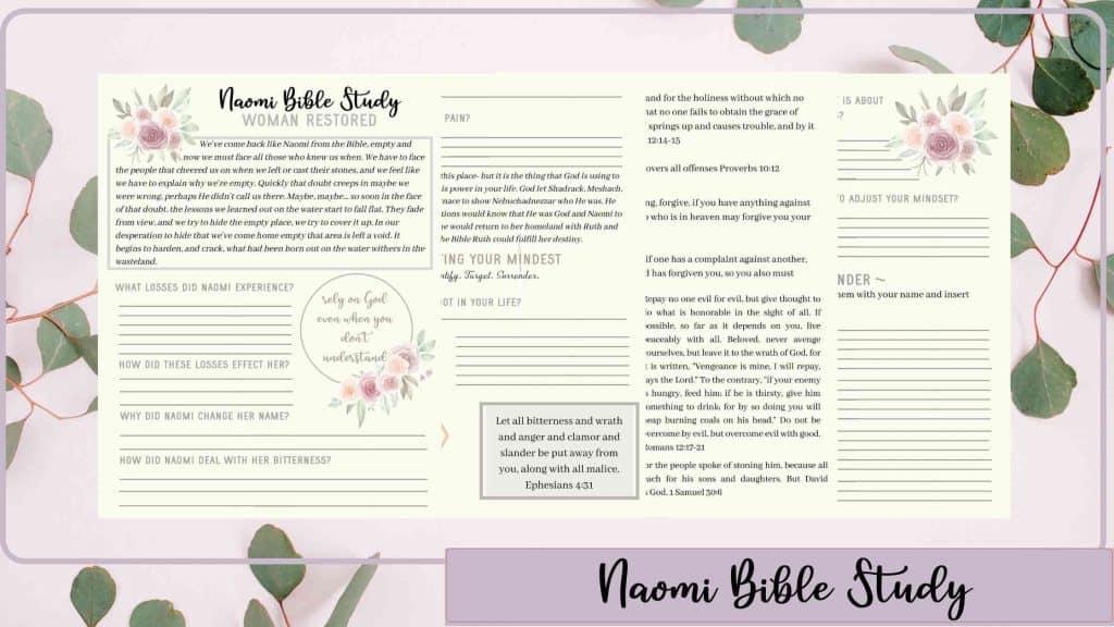 Naomi bible study