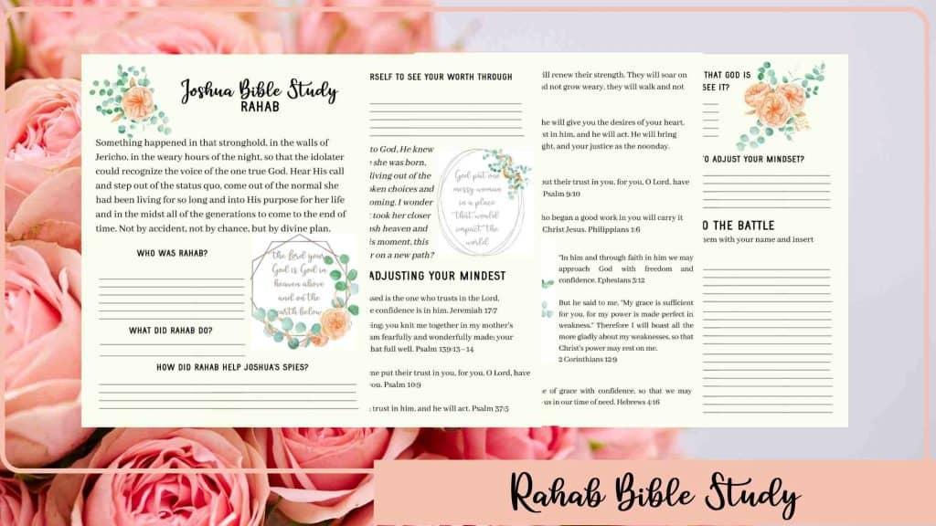 Rahab bible study