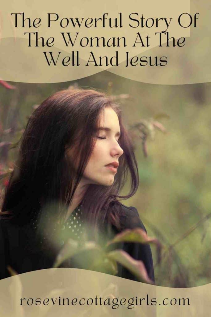 Woman standing in nature | The Powerful Story Of The Woman At The Well
