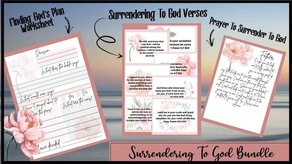 Surrendering To God Bundle